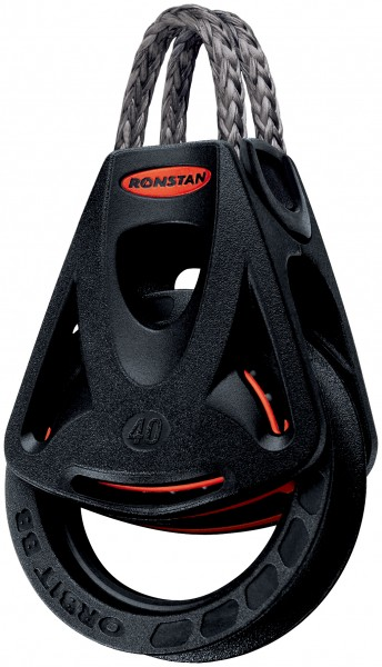 Ronstan 40mm Orbit Block mit Looptop