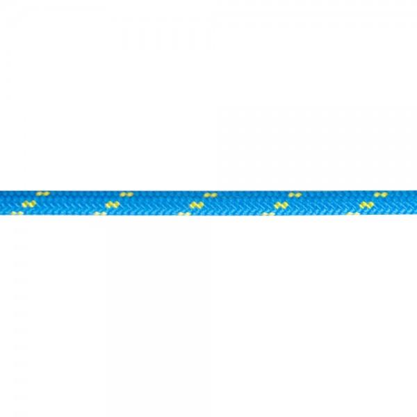 Polyester Trimmleine blau-gelb