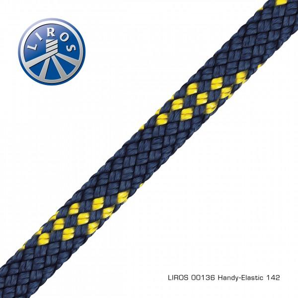 HANDY-ELASTIC, 14mm, marine-gelb
