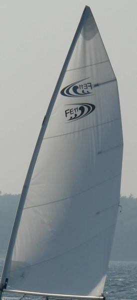Großsegel für Far East 11; 3,5m²