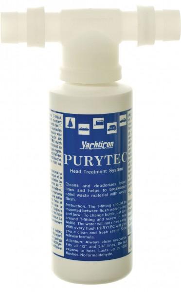 Purytec Set, T-Stück + 100 ml Flasche