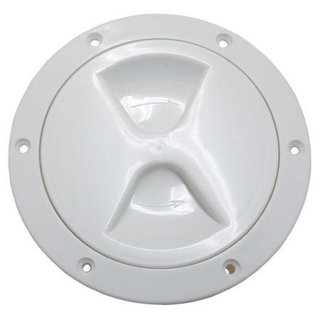 Allen Inspektionsdeckel mit Schraubverschluss in weiß oder schwarz