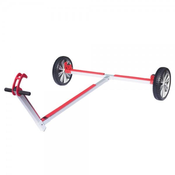 Optiparts Slipwagen mit Optiflex-lite Rädern