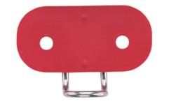 Harken Unterlegplatte mit Drahtführung für Micro Curryklemmen H468 und H471
