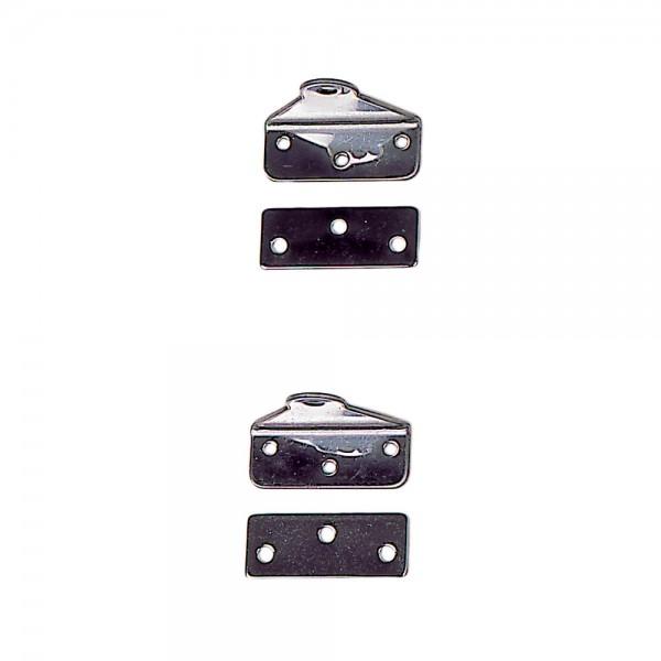 Spiegelbeschläge für Opti, mit Konterplatten