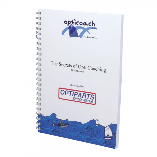 Optiparts Coach Book, Trainingsbuch für Opti-Trainer