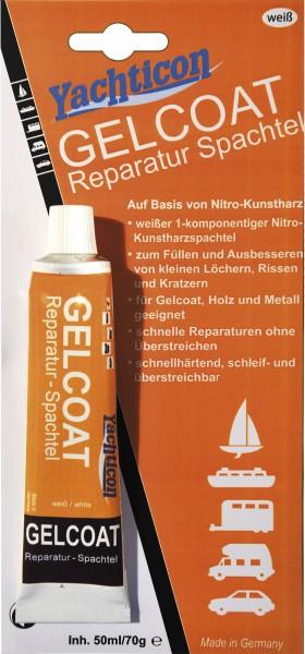 Gelcoat Reparatur Spachtel weiß, 70 g