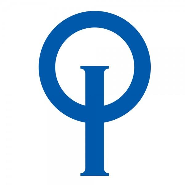 Optiparts Klassenzeichen für Optisegel, blau