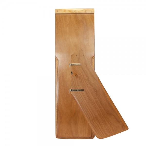 Optiparts Holzschwert und -ruder mit Beschlägen