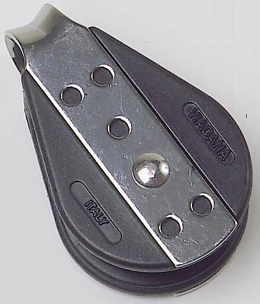 Viadana 38mm Block, kugelgelagert