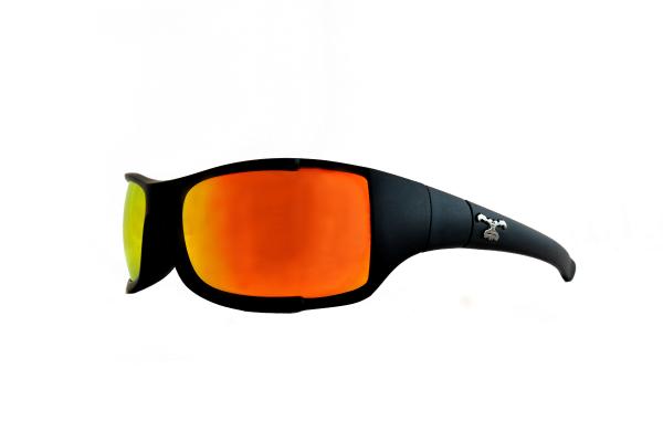 Wechselgläser für Modell TRANSMISSION, rot/orange verspiegelt