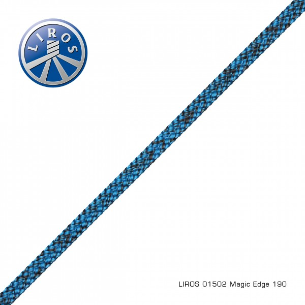 LIROS Magic Edge 4mm, schwarz-blau